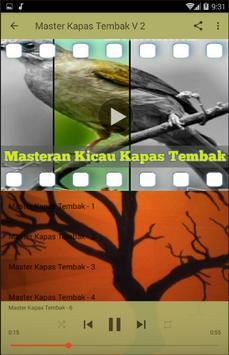 Masteran Kicau Kapas Tembak screenshot 4