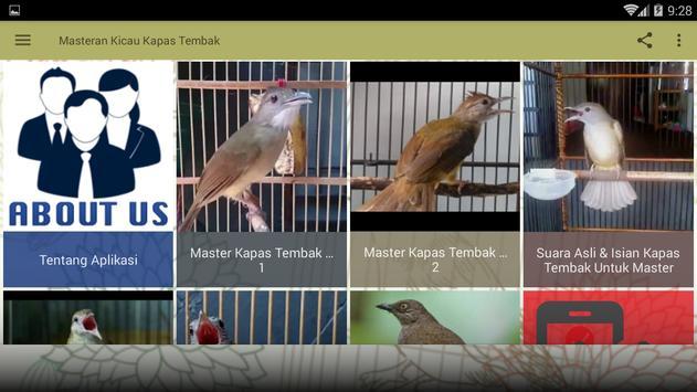 Masteran Kicau Kapas Tembak screenshot 6
