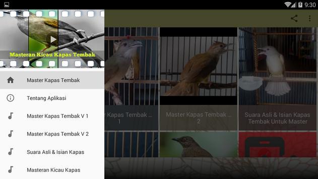 Masteran Kicau Kapas Tembak screenshot 8
