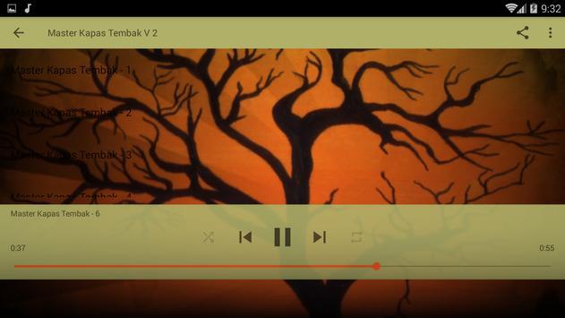 Masteran Kicau Kapas Tembak screenshot 9