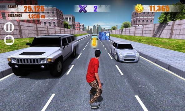 10 Schermata Street Skater 3D