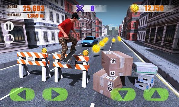 1 Schermata Street Skater 3D