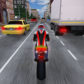 Race the Traffic Moto-icoon