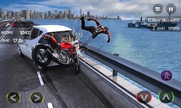 Race the Traffic Moto скриншот 4