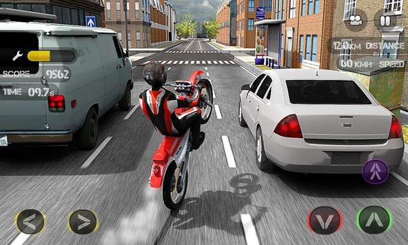 Race the Traffic Moto скриншот 6