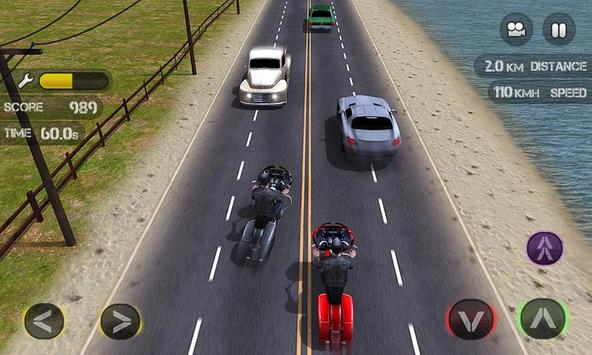 Race the Traffic Moto screenshot 1