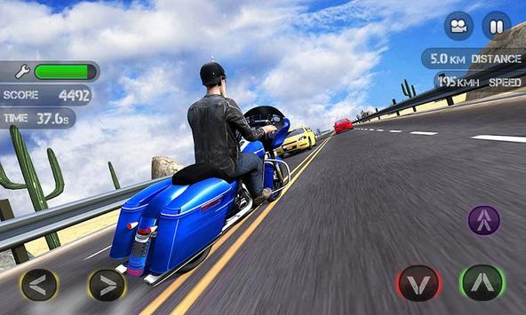 Race the Traffic Moto screenshot 2