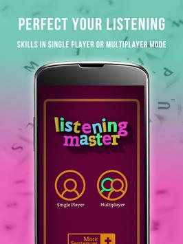 Learn English with Listening Master Pro poster