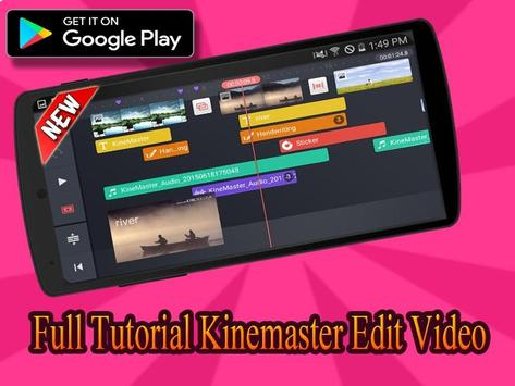 Walktrough Pro Kine Master-Tips Editing Video 2k19 screenshot 1