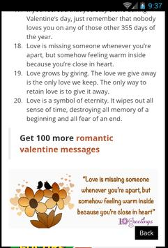 Valentines Day Quotes screenshot 3