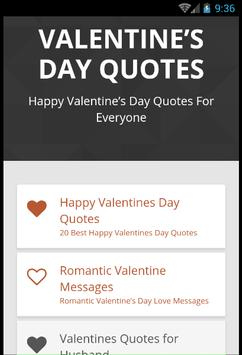 Valentines Day Quotes screenshot 6