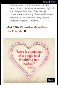 Valentines Day Quotes screenshot 9