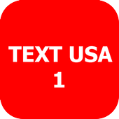 Text Usa icon