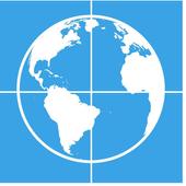 Icona Measure Distance Map