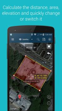 3 Schermata Measure Distance Map