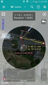 1 Schermata Measure Distance Map