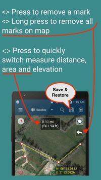 4 Schermata Measure Distance Map