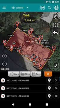 8 Schermata Measure Distance Map