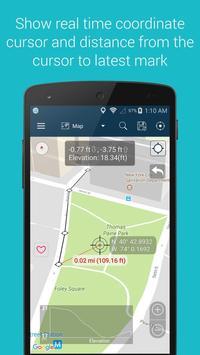 9 Schermata Measure Distance Map