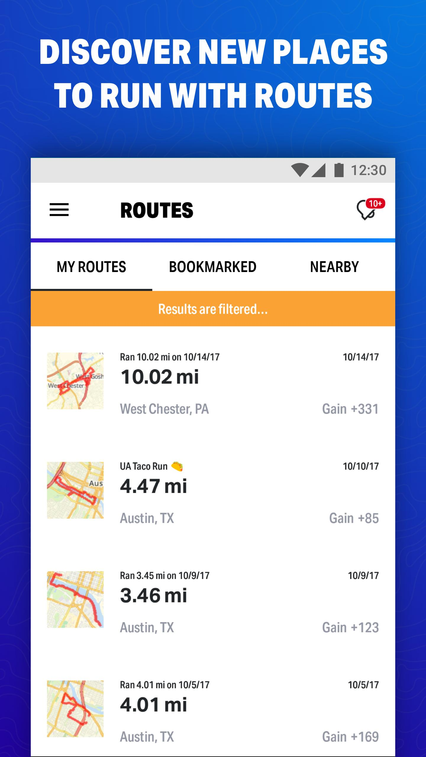 Map My Fitness Workout Trainer for Android - APK Download Map My Workout on map my fitness android, map my travel, map my run, map my walk for fitness,