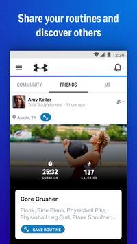Map My Fitness Workout Trainer Ekran Görüntüsü 3