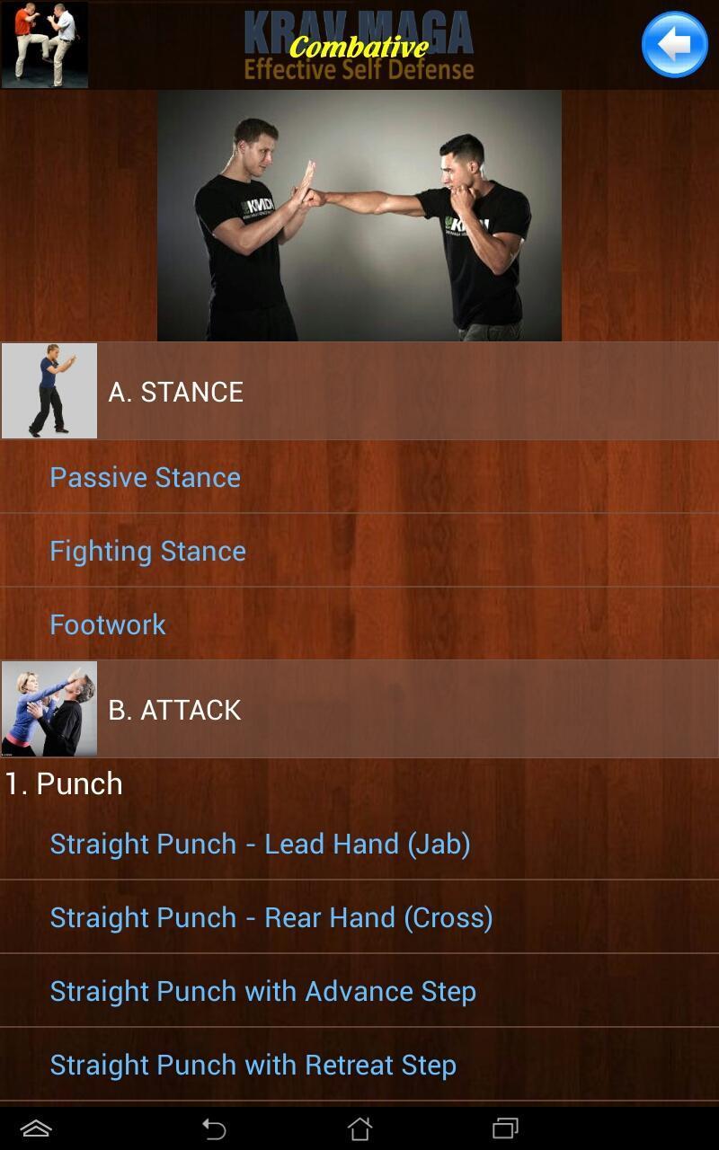 Krav Maga Effective Self Defense For Android Apk Download