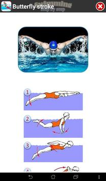 Swimming Step by Step captura de pantalla 15