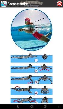 Swimming Step by Step captura de pantalla 18