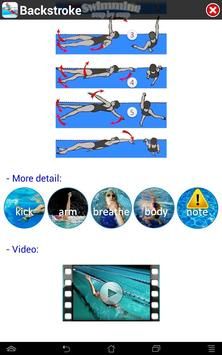 Swimming Step by Step captura de pantalla 10