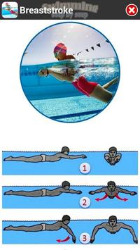 Swimming Step by Step captura de pantalla 3