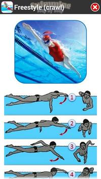 Swimming Step by Step captura de pantalla 5