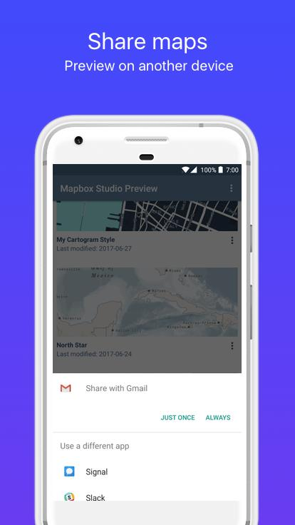 Mapbox Studio Preview for Android - APK Download