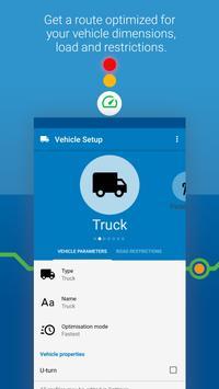 MapFactor Navigator Truck Pro: GPS Navigation Maps 截图 2