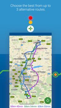 MapFactor Navigator Truck Pro: GPS Navigation Maps 截图 3