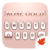 Rose Gold 2019 Theme -  Maple Keyboard icon