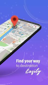GPS,地圖,語音導航和目的地 截圖 1