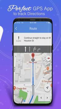 GPS,地圖,語音導航和目的地 截圖 22