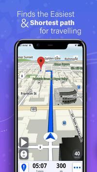 GPS,地圖,語音導航和目的地 截圖 2