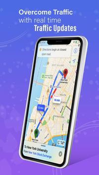 GPS,地圖,語音導航和目的地 截圖 3