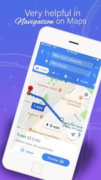 GPS,地圖,語音導航和目的地 截圖 5