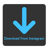 Download videos and images from Instagram icon