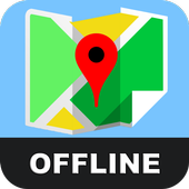 Offline Here GPS Map Advice 2019 icon