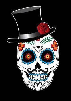Sugar Skull Wallpaper poster