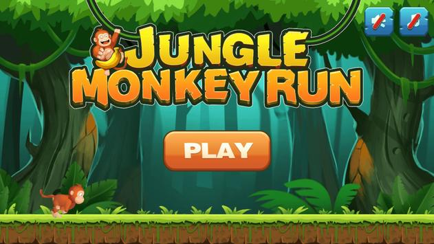 Jungle Monkey Run 海報