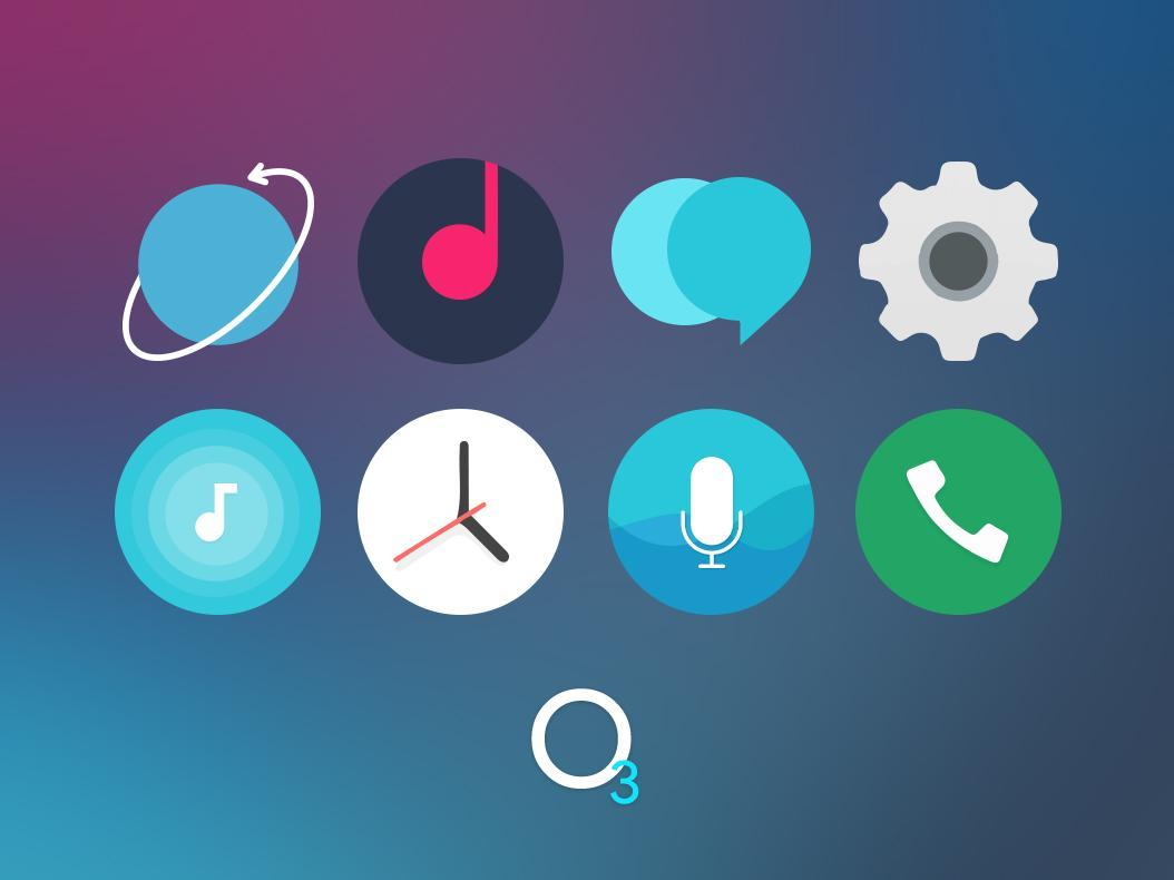 O3 Free Icon Pack - Square UI for Android - APK Download