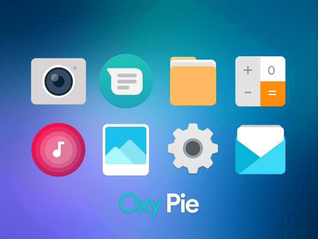 OxyPie Free Icon Pack - Round UI for Android - APK Download