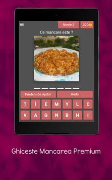 Ghiceste Mancarea Premium screenshot 11