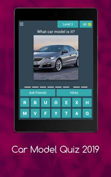 Car Model Quiz 2019 screenshot 7
