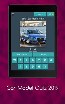 Car Model Quiz 2019 screenshot 8