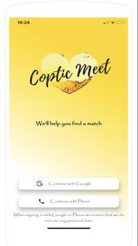Coptic Meet poster